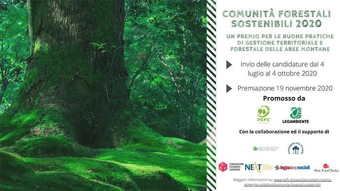 Premio Comunità forestali sostenibili