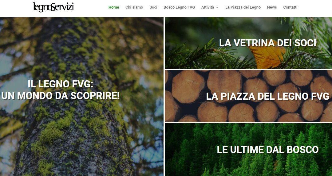 Legno Servizi e la nuova piazza digitale del sistema bosco-legno Fvg